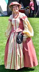 Proper dressed (RichSeattle) Tags: woman washington nikon dress fair d750 wenatchee renaissancefair prim proper richseattle