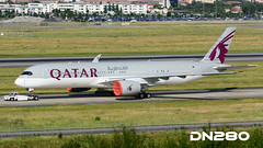 Qatar A350-941 msn 036 (dn280tls) Tags: msn qatar 036 a350941 fwzge a7all
