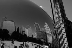 Chicago Cloud Gate (jessicachlee) Tags: chicago reflection buildings bean cloudgate thebean