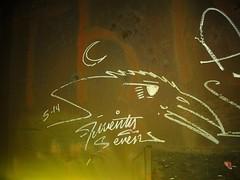 Twenty Seven (MisTrEE3) Tags: railroad art graffiti arts trains tags rails graff painters traingraffiti fr8 monikers twentyseven benching dueceseven twentysevengraffiti trainbenching