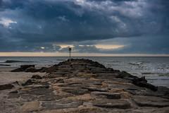 Ocean City NJ (Big Al's Photography) Tags: ocean city seascape storm beach weather clouds landscape pier us newjersey sand unitedstates pipe nj oceancity