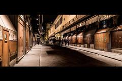 ponte vecchio (cyrcra) Tags: street florence firenze rue nuit pontevecchio
