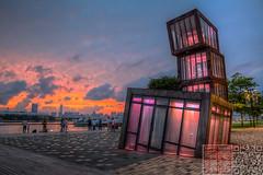 IMG_0062 (Edward Ha) Tags: canon hongkong ngc   kwuntong   sunuset kwuntongferrypier kwuntongpromenade