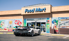 Food stop (Adam_Bornstein) Tags: vegas cars car speed nice bc fast supercar pagani exoticcar huayra hypercar