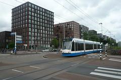 Nieuw oud Amsterdam (Railfan5569) Tags: amsterdam tram gvb lijn26