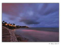 Campello ( Marco Antonio Soler ) Tags: sunset espaa seascape clouds landscape atardecer spain nikon paisaje iso alicante nubes 16 jpg atardeceres hdr campello waterscape alacant 2016 d80