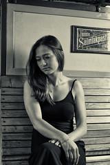 Louisa II (julius.wiesemann) Tags: oldschool black white monochrome portrait vintage people