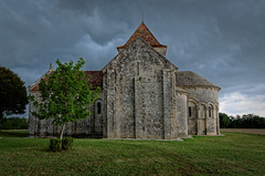 Eglise de Lichres - Charente (Vaxjo) Tags: church roman glise charente lichres