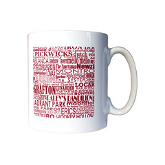 forgotten haunts liverpool mug (rethinkthingsltd) Tags: city liverpool manchester design parry forgotten mug local coaster hacienda scouser haunts ilsa pickwicks epics typographically rethinkthings