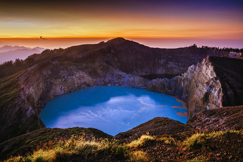 Before Sunrise, Kelimutu Crater