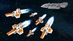 Battlestar Galactica (-derjoe-) Tags: derjoe der joe joachim klang lego space tricks fr kids cool projekts for heel verlag your bricks