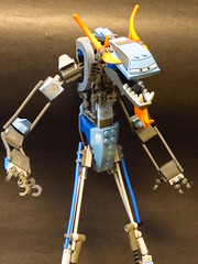 Silly Sally says she has seven silver inverted slopes in her slick sexy chassis (monsterbrick) Tags: lego sally moc