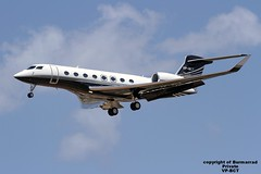 VP-BCT LMML 15-07-2016 (Burmarrad) Tags: cn private aircraft airline registration gulfstream 6169 g650 lmml vpbct 15072016
