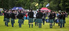 Pipeband (FotoFling Scotland) Tags: scotland kilt argyll event drummer piper lochlomond highlandgames bagpipe pipeband luss lusshighlandgames lussgathering
