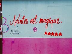 DSCN8084 (Cocomilie) Tags: graffiti riot anarchism nantes punchline