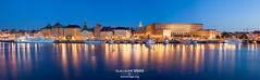 Gamla Stan, Stockholm (g u i l l a u m e) Tags: canon stockholm gamlastan skeppsholmen blue sverige sweden sude