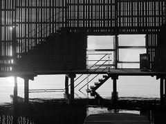 Copenhagen 2016 (hunbille) Tags: denmark amager amagerstrandpark strand strandpark beach kastrup sbad sobad kastrupsbad bathhouse house sunrise dawn summer bath oresund resund water sea kbenhavn copenhagen