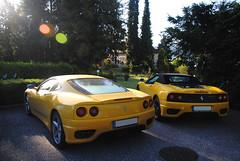 360 Modena - 360 Spider (MarcoT1) Tags: austria spider sterreich am nikon 360 ferrari modena 2016 velden wrthersee d3000 sportwagenfestival