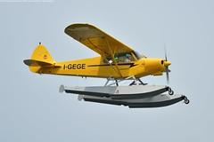 Aero Club Como | Piper PA-18-150 | I-GEGE (Marco Montrasio) Tags: igege aero club como arona air show piper pa18150 idrovolante velivolo