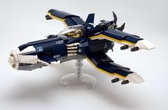 X-Plane - left (Sylon-tw) Tags: sylontw sylon xwing x plane aircraft airplane dieselpunk dieselpulp moc lego skyfi wing wings