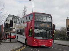 NXWM 4854 BX61LMK 'Louise' Moor St Queensway, Birmingham on 33 (1024x768) (dearingbuspix) Tags: louise nationalexpress 4854 nationalexpresswestmidlands nxwm bx61lmk