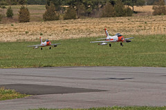 RDRC Spring Flying - Formation Flying (John. Romero) Tags: radio plane canon airplane photography fly flying photo airport durham control aircraft aviation air flight raleigh hobby planes remote tamron runway rc flyin rdrc