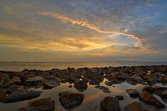 Pantai Redang Sunset | Scene 2 (Shamsul Hidayat Omar) Tags: sunset tourism beach landscape photography high interesting nikon scenery dynamic shoreline rocky places scene malaysia omar range hdr redang pantai selangor bagan hidayat greatphotographers sekinchan shamsul photoengine oloneo d800e