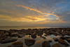 Pantai Redang Sunset   Scene 2 (Shamsul Hidayat Omar) Tags: sunset tourism beach landscape photography high interesting nikon scenery dynamic shoreline rocky places scene malaysia omar range hdr redang pantai selangor bagan hidayat greatphotographers sekinchan shamsul photoengine oloneo d800e