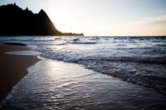 ocean love (paul.wienerroither) Tags: ocean travel light sun reflection beach nature water 35mm canon photography hawaii sand paradise kauai hi balihai haena oceanlove