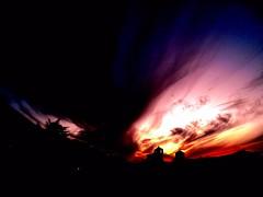 La ciudadela, Jaca. Sunset in Jaca. #Pirineos #jaca (fotografialuis) Tags: sunset sky espaa atardecer cielo jaca pirineos