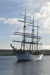 Statsraad Lemkuhl (DSC_3747) (AngusInShetland) Tags: scotland bergen tallship shetland lerwick onedinline statsraadlehmkuhl sailtraining victoriapier