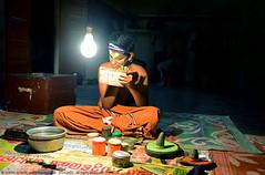 TRANSFORMATION (GOPAN G. NAIR [ GOPS Creativ ]) Tags: india art temple photography vishnu folk performance kerala tradition sree mahavishnu kathakali vallabha gops thiruvalla gopan gopsorg gopangnair gopsphotography