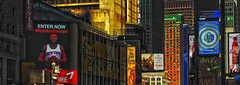 Enter Now (macieklew) Tags: colorful cityscape manhattan timessquare hdr neons