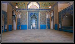 Yadz (Iran) : Mosquée du vendredi (L'Abominable Homme de Rires) Tags: iran yadz