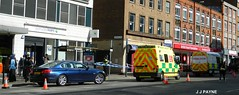 The scene around the incident (J.J.Pay 8581) Tags: leicestershire leicester police constabulary