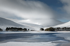 Brecon Beacons & Frozen Lake 2 (welshio) Tags: uk travel trees winter wild sky panorama snow mountains ice scale nature water beautiful wales clouds landscape frozen scenery europe shadows bright perspective lakes landmarks blues panoramas scene highlights fresh reservoir breconbeacons hills clear greens vista romantic british remote lonely welsh wilderness icy wonderland nationalparks picturesque depth lightandshadow penyfan snowscape pictorial powys wintery cribyn naturallandscapes corndu breconbeaconsnationalpark taffechan cribben neuaddreservoir welshlandscapes classicviews mountainsociety