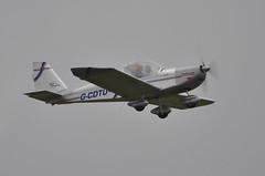 13th June 2010 RAF Cosford Airshow (rob  68) Tags: 13th june 2010 raf cosford airshow team eurostar uk evektor aerotechnik ev97 ev 97 gcdtu 2522 accident arclid airstrip
