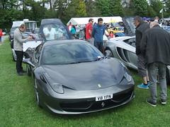 Ferrari (Bennydorm) Tags: auto england people italy car grey italian automobile fast ferrari vehicle motor spectators rapido exciting sportscar motorshow italiano kendal crooklands unamacchinoveloce