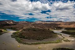 Tight Turn (The Noisy Plume) Tags: travel oregon river desert idaho rafting owyheeriver owyheecanyonlands