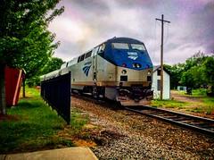 Amtrak Downeaster (Littlerailroader) Tags: railroad retail train trains amtrak locomotive roads dover locomotives downeaster