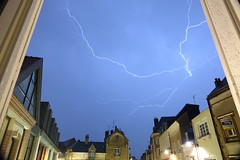 Test orage. (landov001) Tags: storm nature ciel lightning eclair orage