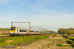 NMBS I11 hvr  & HLE 1856   Maria-Aalter (Tren di Cdrico) Tags: train ic brugge trein intercity nmbs i11 l50 sncb mariaaalter l50a