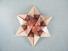 Simply Hex Star - Natalia Guzowska (Rui.Roda) Tags: stella star origami estrela natalia simply stern estrella papiroflexia hex toile papierfalten guzowska