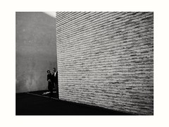 let's get lost (reneichenberger) Tags: people monochrome wall blackwhite noiretblanc schwarzweiss