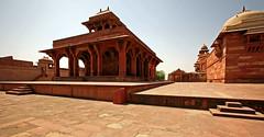 Fatehpur Sikri Palace 101 (David OMalley) Tags: india muslim islam agra palace mosque pilgrimage akbar masjid allah islamic pradesh fatehpur sikri muhammed uttar jama darwaza buland sikari vijaypur