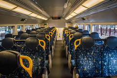 2016 - Sydney - Welcome Aboard - Pick-a-Seat (Ted's photos - For Me & You) Tags: windows male hat one nikon publictransit perspective sydney australia aisle seats transit cropped fencing seating oneperson 2016 welcomeaboard headrest sydneyau tedmcgrath tedsphotos nikonfx sydneytransit nikond750