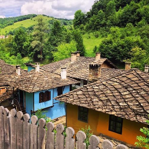 #Etar #ethnographic #village #Gabrovo #bulgaria #stonework #rooftop