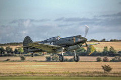 Curtis P40-B Warhawk Taking Off (nigdawphotography) Tags: plane airplane fly fighter aircraft aeroplane american pilot curtis p40 warhawk