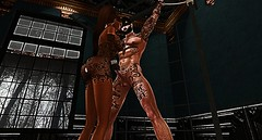 020 (djolyx) Tags: sexy fetish noir bdsm piercing sl secondlife rack plug mistress kinky slave sheer