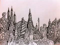 Abstract magical city drawing (nikita_grabovskiy) Tags: pictures abstract black color art colors collage tattoo modern pen pencil print creativity design sketch cool artwork paint artist pattern arte image artistic drawing contemporary surrealism patterns paintings arts creative picture surreal drawings mandala images dessin tattoos peinture doodle zen artists painter prints doodles create draw crayon sketches dibujo couleur pintura artworks doodling artista tatuaje paining artiste mandalas tatouage lápiz искусство рисунки картины картина карандаш рисунок арт узор художник татуировка узоры zentangle zentangles